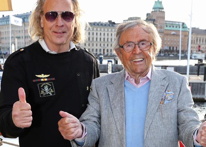 Christer Gustafsson och Arne Weise