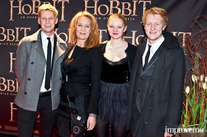 Anton, Maria Lundqvist, Alva & Arvid