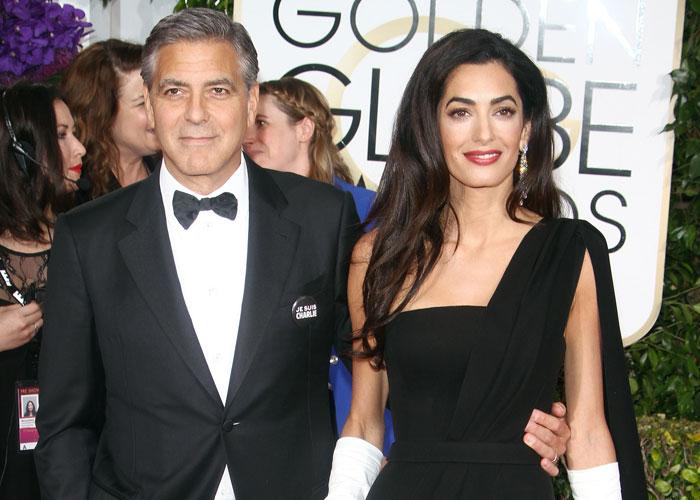 George Clooney och Amal Alamuddin
