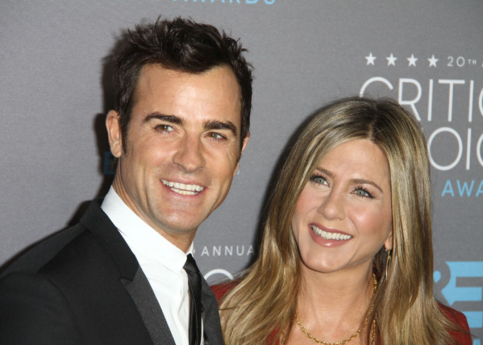 Justin Theroux och Jennifer Aniston