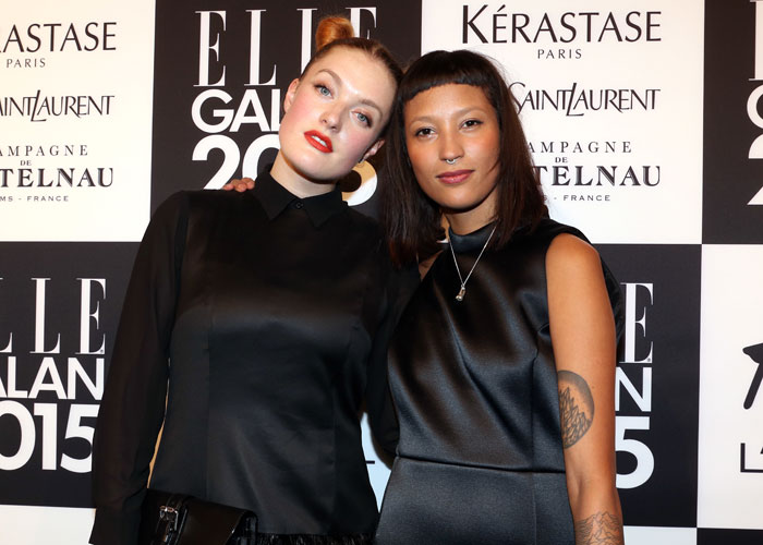 Caroline Hjelt och Aino Jawo