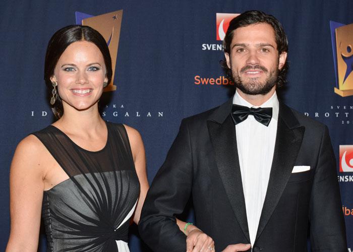 Sofia Hellqvist och prins Carl Philip