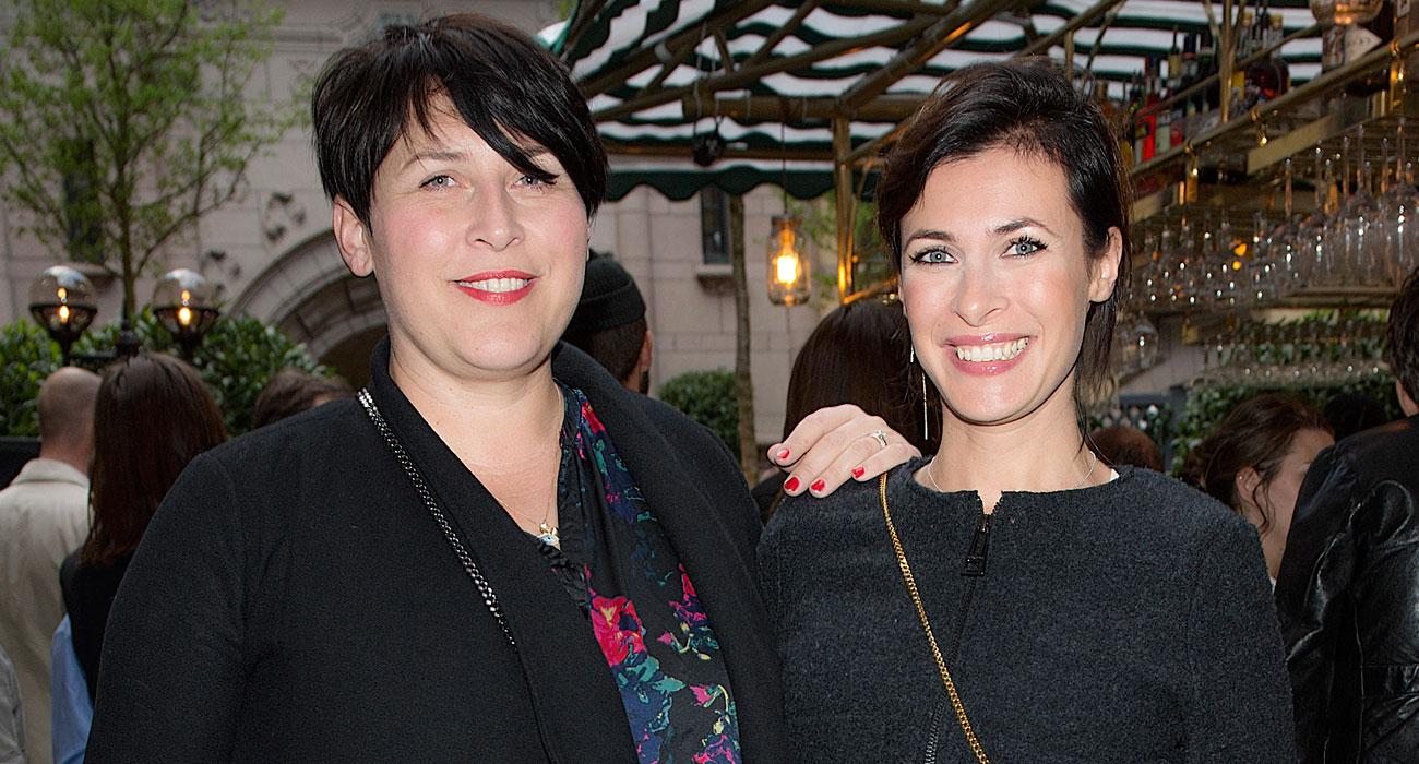 Hannah Widell och Amanda Schulman