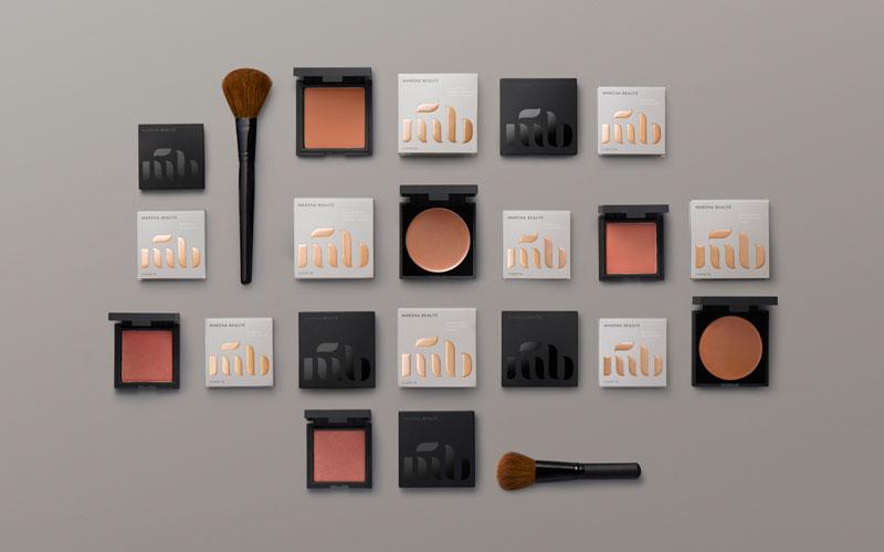 Produkterna från Maréna Beauté kommer i sex olika nyanser.