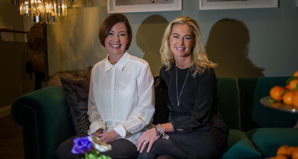 Maria Maruska och Angeliqa J Hejdenberg.