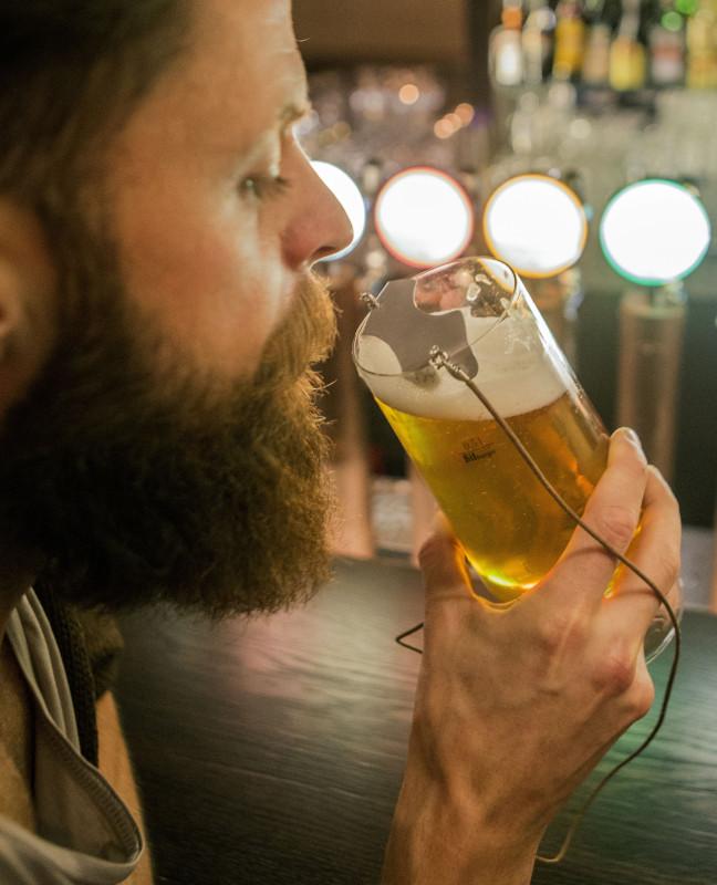 Det är bara att klunka utan att lukta öl-alkis på vägen hem.