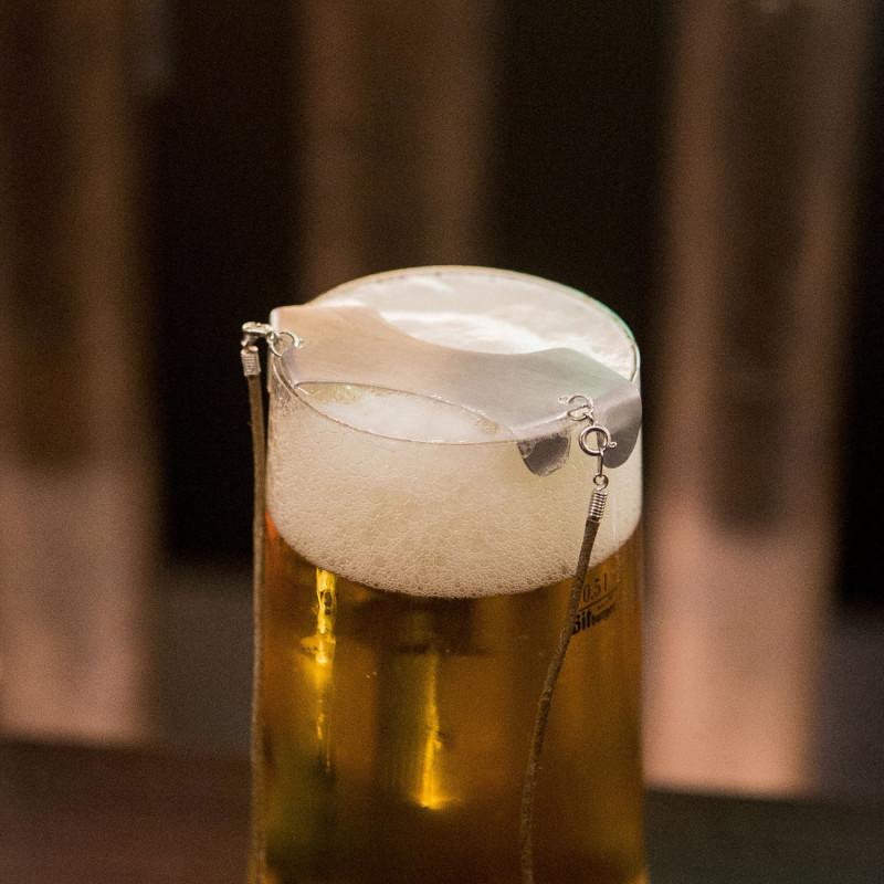 Skummande öl. Förr var detta ett problem för mustashmän, men inte längre.