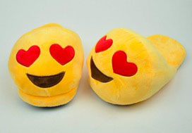 Emoji-tofflor